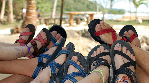 Happy Chaco Feet