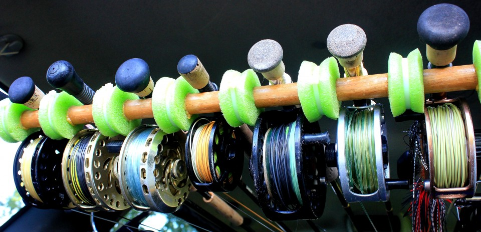 fly fishing reels stretch