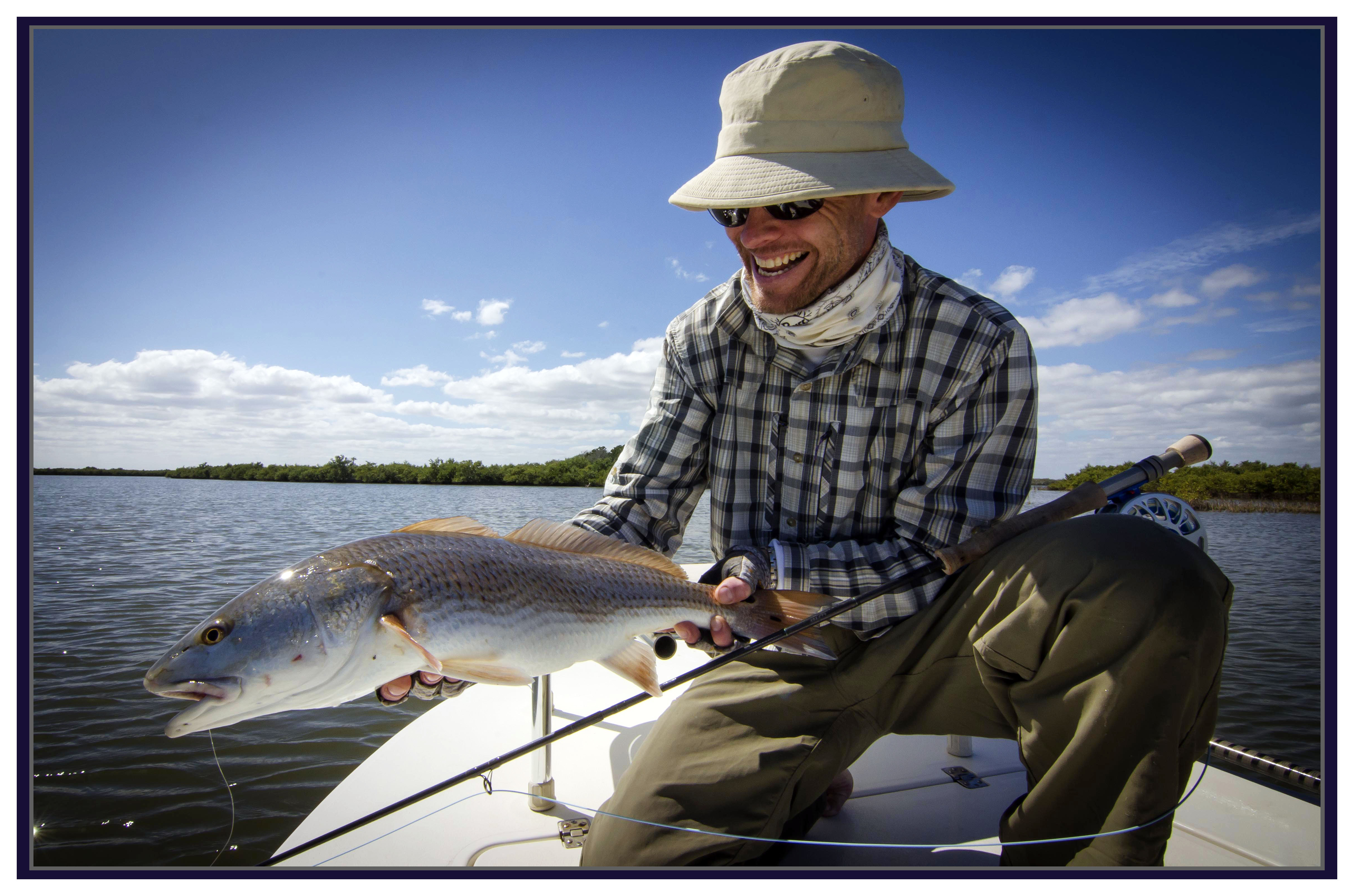 Four straight sundays on the water serenity now outfitters for Mosquito lagoon fishing