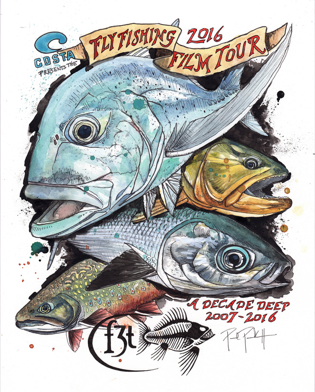 The fly fishing film festival comes to lewisburg for Fly fishing film festival